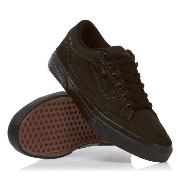 a926e6d4d7 VANS Black Black Bearcat Skate Shoe Sneaker size 9